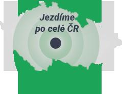 Jezdíme po celé ČR