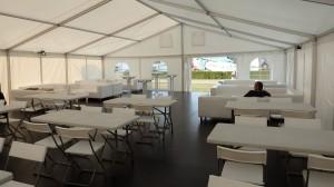 Party stany Etimex jsou připraveny na veletrh. Půjčíme vám i gastro vybavení, pivní set, plynové topení do stanu nebo atrakce pro děti